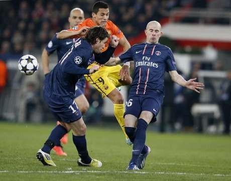 PSG vs Barcelona Berakhir 2-2