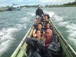 Begini Serunya Naik Speedboat di Kepulauan Mentawai