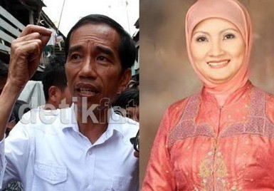 Mega Pimpin Deklarasi Cagub Jateng, Jokowi Nongol Rustri Absen