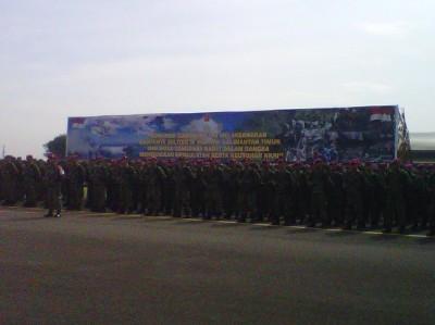 16.745 Prajurit TNI Siap Latihan Gabungan di Kaltim & NTB