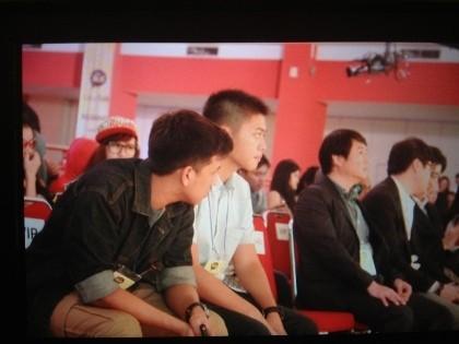 Rasyid Rajasa Nonton Jumpa Fans Big Bang di Jakarta