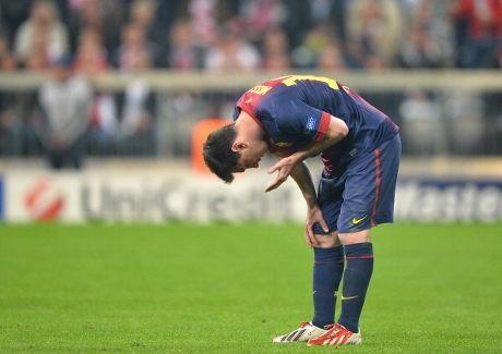 Messi Akui Kondisinya Fit di Laga Lawan Bayern