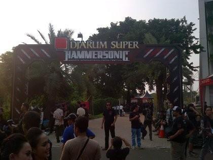 Ratusan Metalhead Bersiap Berpesta di Hammersonic 2013