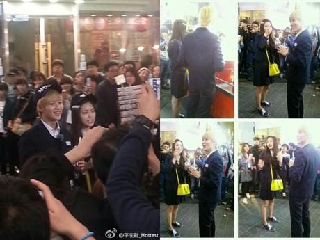 Kencan, Taemin & Na Eun Jadi Anak Sekolahan