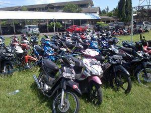Pasca Bentrok dengan Warga, 99 Motor Suporter PSIS Diamankan Polisi