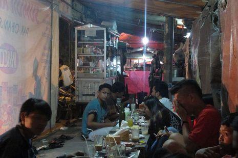 Nongkrong Malam Hari di Cirebon, Jl Kartini Tempatnya