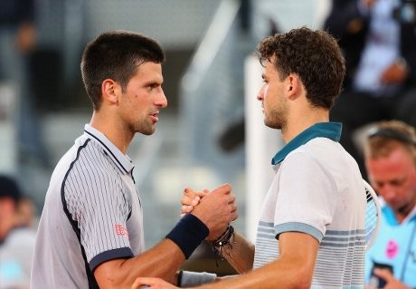 Djokovic Disingkirkan Dimitrov di Babak Kedua