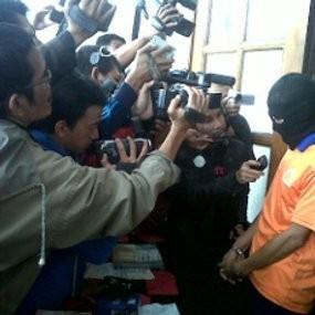 Oknum TNI Otaki Perampokan Uang ATM Rp 2,9 M yang Diangkut Mobil Securicor