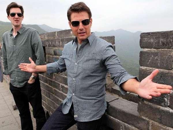 Kunjungan Tom Cruise di Tembok Besar Cina