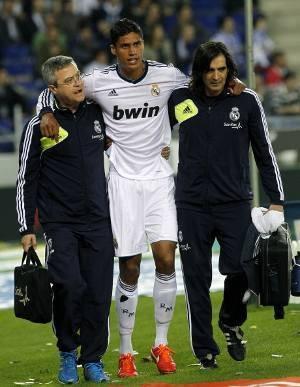 Cedera, Varane Absen di Final Copa del Rey