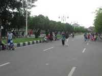 Jalan-jalan ke Banda Aceh, Asyiknya Waktu Car Free Day
