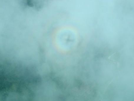 Pelangi Berbentuk Cincin Pernah Muncul di Langit NTT