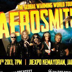 Promotor Tak Batasi Waktu Pengembalian Tiket Aerosmith