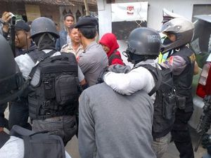 3 Terduga Teroris Solo Dibawa Keluar dari Mako Brimob Yogya
