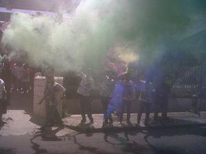 Lulus UN, Ratusan Siswa Yogya Coret-coret Seragam dan Pesta Kembang Api