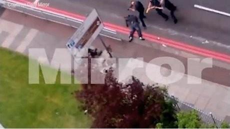 Beredar Video Pelaku Seret Tentara Inggris yang Dibunuh Sadis di Jalanan