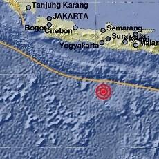 Gempa 5,2 SR Terjadi di Pacitan