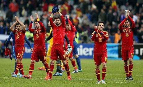 Difavoritkan di Piala Konfederasi, Spanyol Tak Jemawa