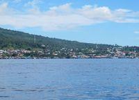 Jailolo adalah sebuah kota yang berada di kawasan teluk, Halmahera Barat. detikTravel berkesempatan traveling ke sana beberapa waktu lalu. Untuk tiba di Jailolo, Anda harus naik boat dari Ternate sekitar 45 menit (Afif/detikTravel)