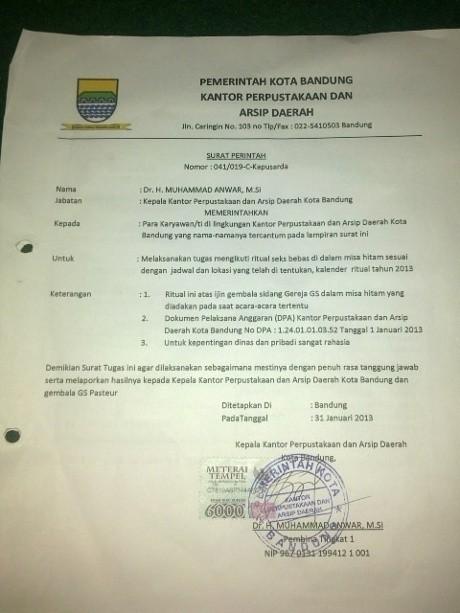 Geledah Kamar Kos, Polisi Temukan Surat dan Stempel Perpusarda Bandung