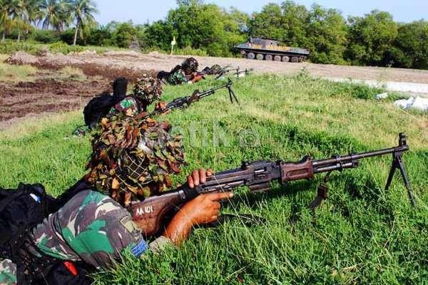 TNI dan Tentara Malaysia Latihan Bersama Tangani Terorisme di Medan