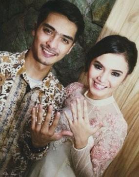 Ricky Harun dan Herfiza Resmi Menikah