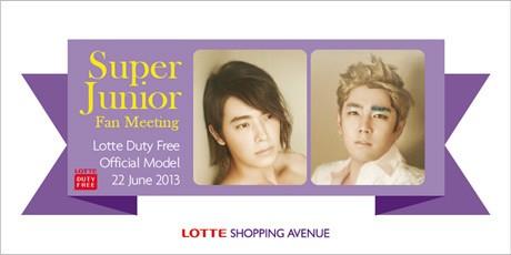 Donghae dan Kangin \Super Junior\ ke Jakarta 22 Juni