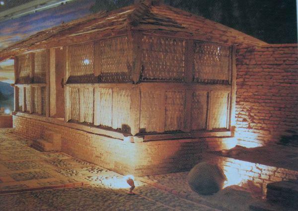 Diperkirakan rumah warga Majapahit seperti ini dulunya