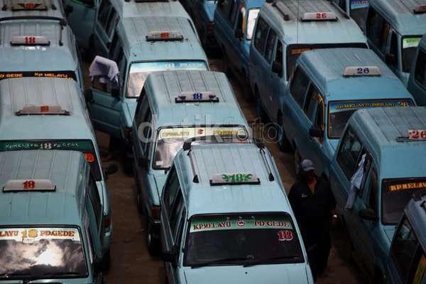 Dishub DKI Akan Tilang Angkot Jakarta yang Naikkan Tarif Sepihak