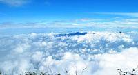 Permadani awan di Gunung Cikuray
