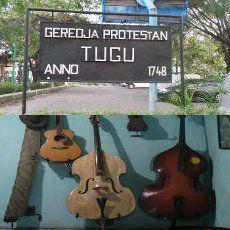 Gereja Tua dan Musik Keroncong di Kampung Tugu