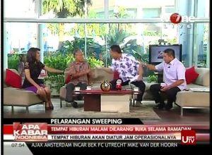 Usai Acara, Munarman dan Tamrin Terus Berdebat Panas Selama 15 Menit