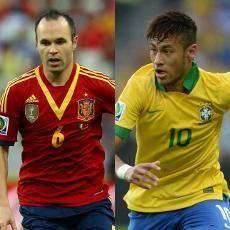 Duel Ke-11 Brasil dengan Spanyol