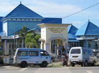 Tanjung Selor adalah ibukota provinsi paling muda di Indonesia, yakni Kalimantan Utara. Sama seperti kota lain di Kalimantan, Tanjung Selor cenderung panas (Putri/detikTravel)