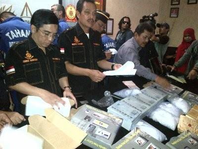 Polisi Sita 7,2 Kg Sabu Jenis Blue Ice