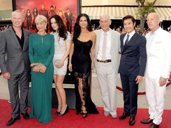 Bruce Willis Hingga Psy di Premiere Red 2