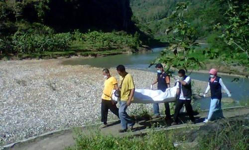 Mayat Lelaki Ditemukan Hanyut di Sungai Oya