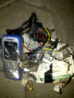 Ini Sisa Bom dan Detonator yang Meledak di Vihara Ekayana