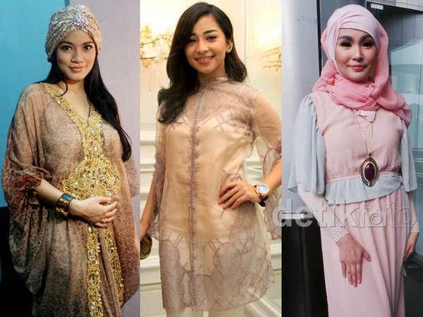 Gaya Selebriti Indonesia di Bulan Ramadan (3)