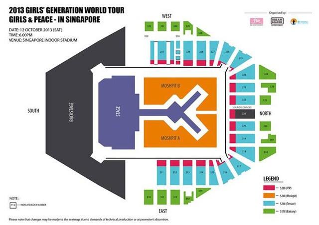 SNSD Juga Konser di Singapura 12 Oktober
