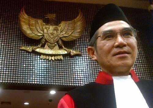 Hamdan Zoelva Resmi Jadi Wakil Ketua MK