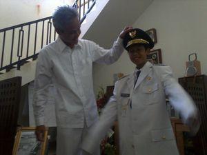 Ganjar Pilih Menyapa Warga Sebelum Dilantik Menjadi Gubernur Jateng