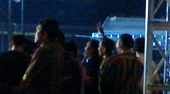 Ini Penampakan Metal Jokowi Saat Nonton Konser Metallica