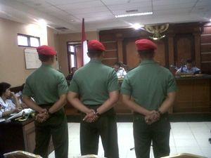Dianggap Lalai, Serma Rohmadi Cs Divonis 4 Bulan 20 Hari