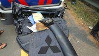Di TKP Kecelakaan Mobil Dul: Jaket Bercak Darah hingga Buku Nirvana