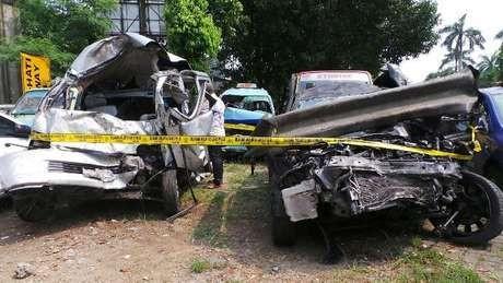 Beginilah Olah TKP Kecelakaan Maut di KM 8 Tol Jagorawi