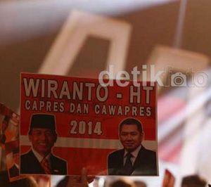 Wiranto-HT Bisa Terganjal, Hanura: PT 20 Persen Tirani Partai Besar
