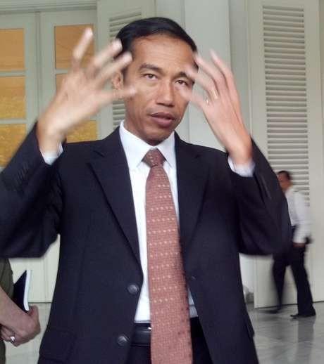 Ditanya Soal Capres, Jokowi Jawab Waduk