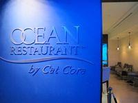 Ocean Restaurant dapat menampung sekitar 68 pengunjung. Restoran ini didesain oleh salah satu koki handal di Amerika, yaitu Cat Cora. Menu makanannya bakal menggoyang lidah (Afif/detikTravel)