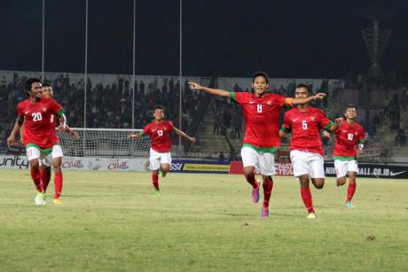 Evan Dimas Hat-trick, Indonesia Tundukkan Thailand 3-1